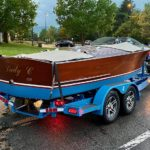 1938 Chris Craft 19 Sportsman and Trailer